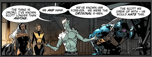 Those All-New X-Men #1 Panels, Lettered