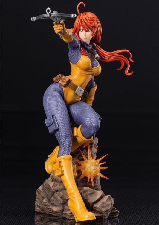 G.I. Joe Kotobukiya Bishoujo Scarlett Statue 1