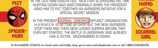 The Sad, Sad Tale Of Normal Osborn