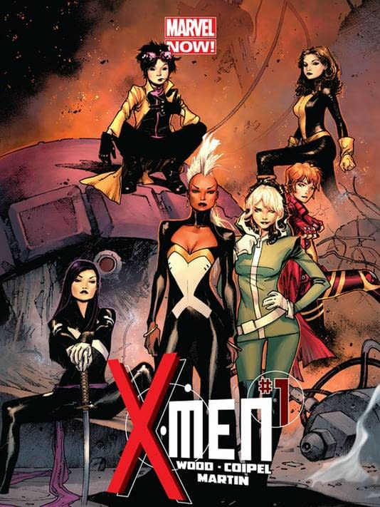 Marvel Launches An All-Female X-Men Book. Called X-Men.