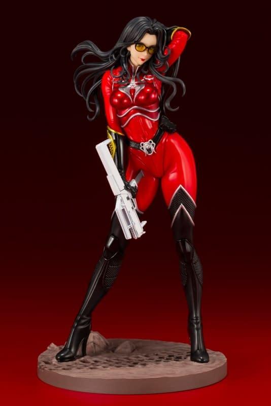 G.I. Joe Gets Sexy Once Again with Baroness Kotobukiya Statue