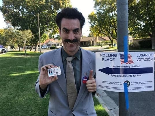 Jimmy Kimmel: Sacha Baron Cohen's Borat Goes Trump-Stumping for GOP (VIDEO)
