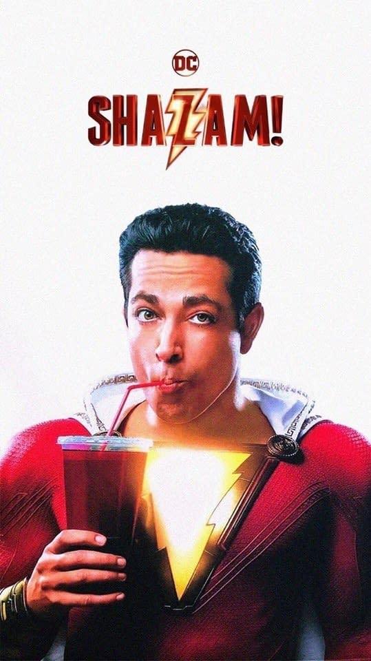Posters for Jumanji 3, Men in Black Reboot, and Shazam! from Vegas Licensing Expo