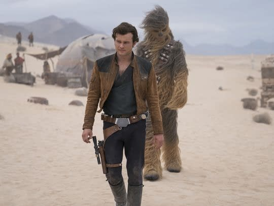 han and chewie solo: a star wars story