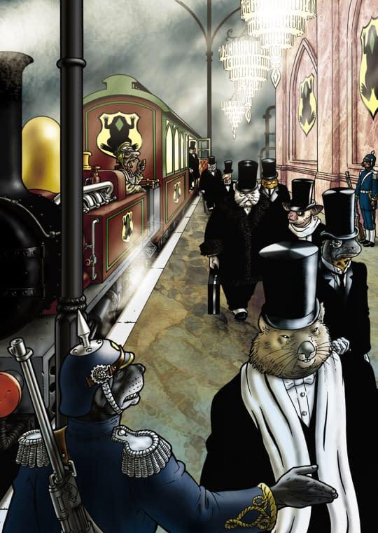 Bryan Talbot Announces Grandville III: Bête Noire