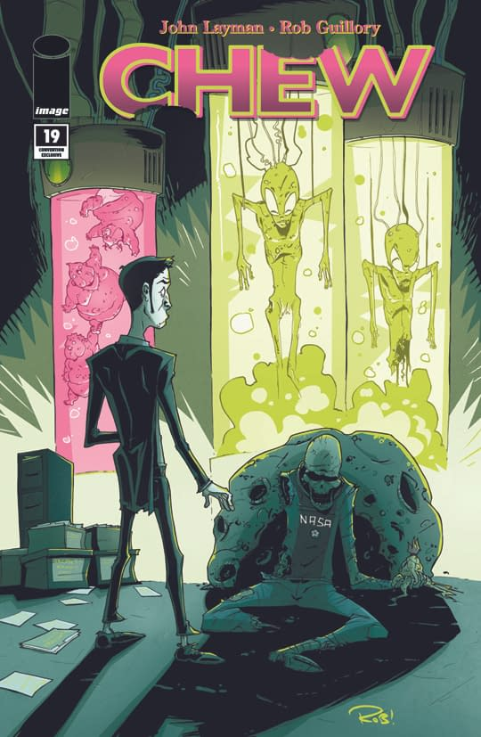 Image About To Destroy The Value Of The Chew Glow In The Dark #19 Variant Cover