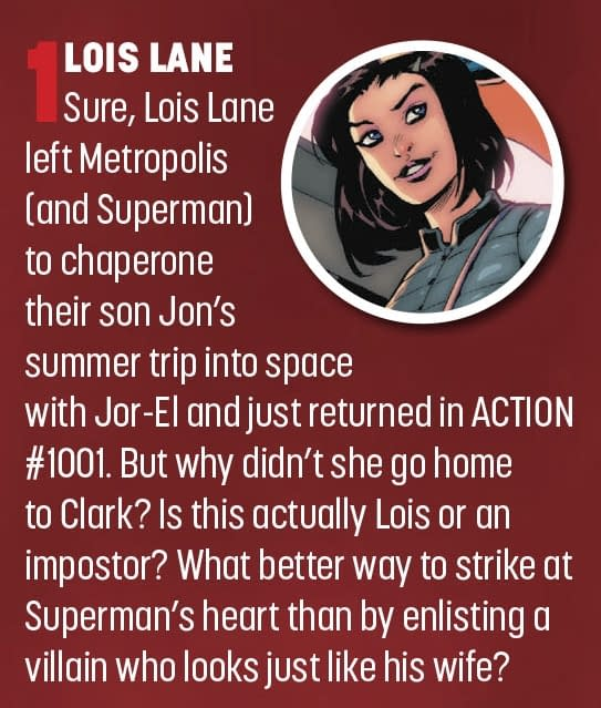 Was That Lois Lane at the End Of Action Comics #1001 or Not?