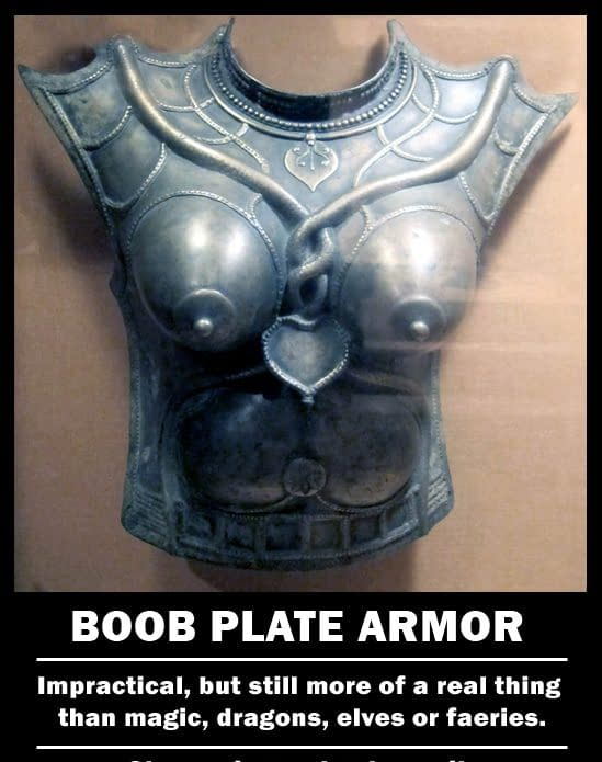 Hollywood And Boob Armor: A Counterpoint