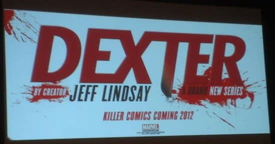 Marvel To Publish Dexter Comics Actually Written By Jeff Lindsay