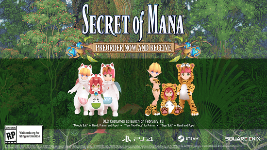 Square Enix Announces A 'Secret Of Mana Remake' At Gamescom