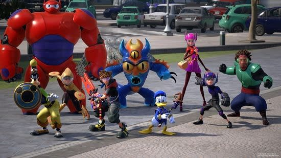 Take A Gander at Big Hero 6's San Fransokyo in Kingdom Hearts III