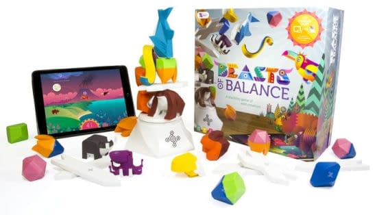 The array for Beasts of Balance by Modern Games (tablet not included).