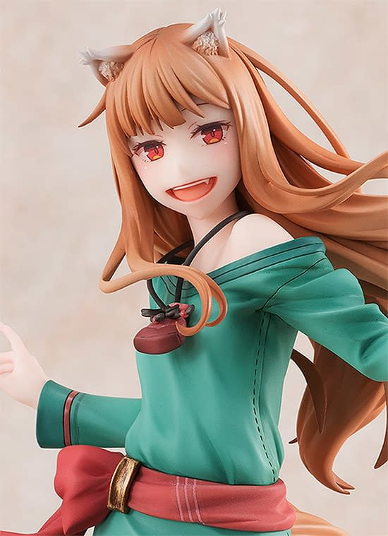 Spice and Wolf 10th Anniversary Holo Statue From Good Smile Returns