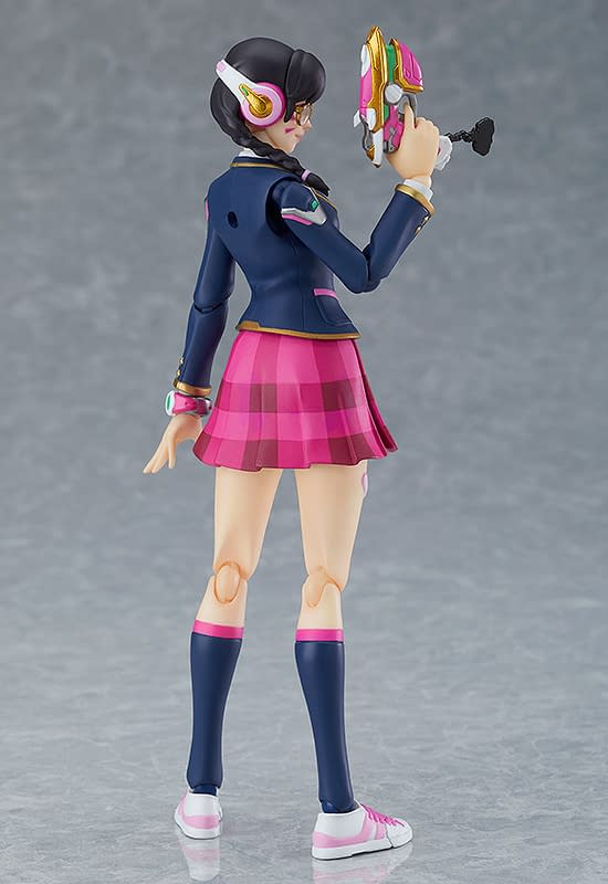 Overwatch D.Va Academy Skin Becomes New figma from Good Smile