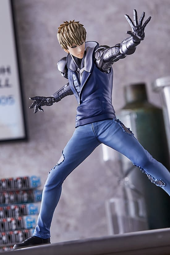 """One Punch Man"" Genos Is Here From Good Smile Company"