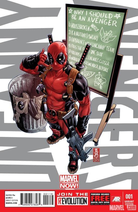 Will Uncanny Avengers #1 Outsell Walking Dead #100?
