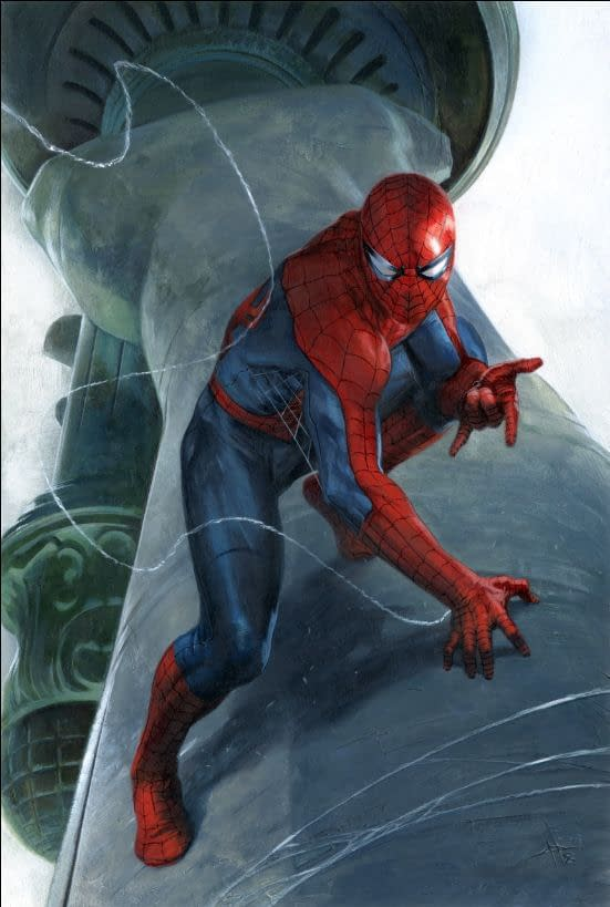 Gabriele Dell'Otto's Exclusive Retailer Variant for Amazing Spider-Man #800