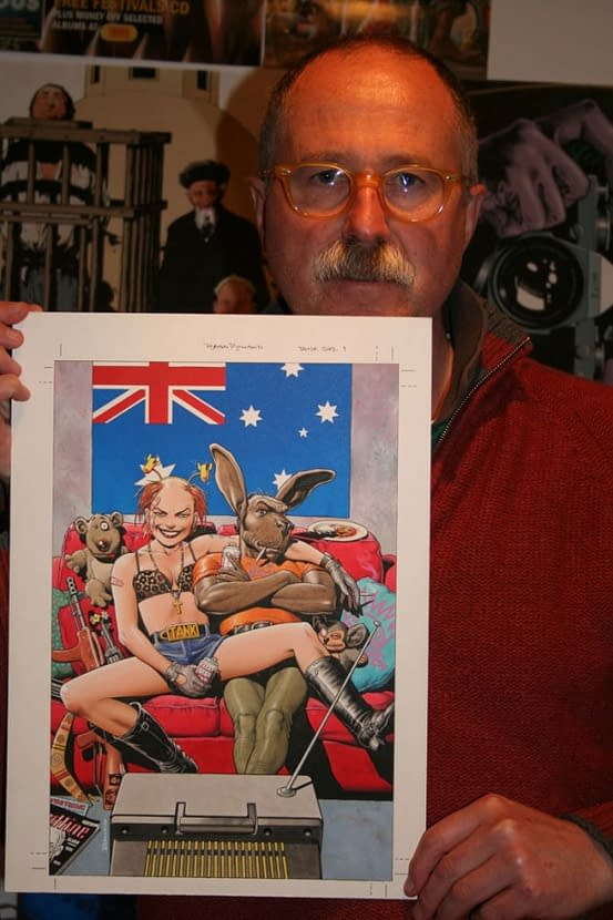Brian Bolland Takes On Erró… And Wins!