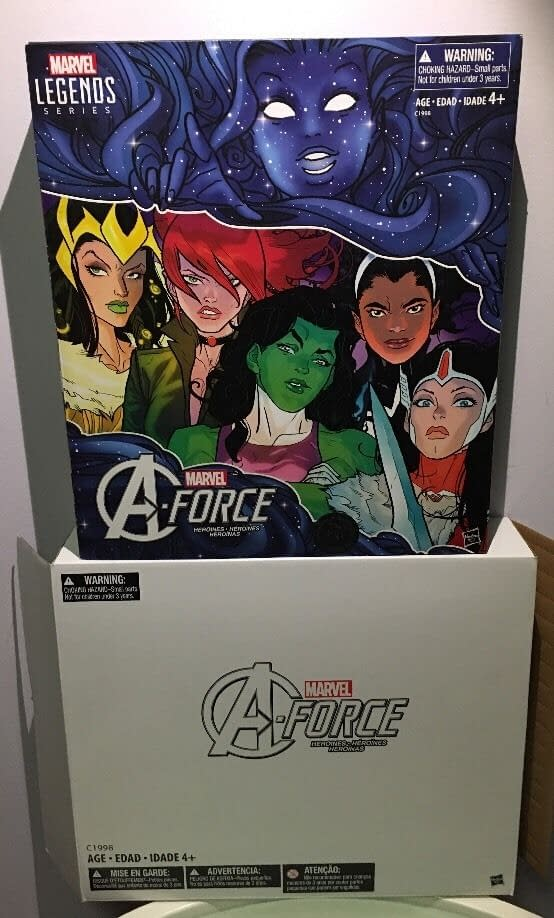 Marvel Legends A-Force Box Set Looks So Good You Won't Want To Open It