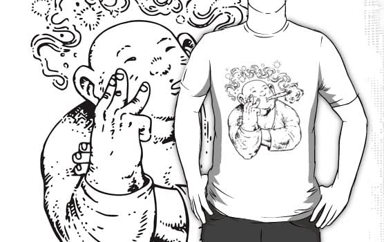 Kobe Bryant And The Stoned Buddha – A T-Shirt Swipe File Special