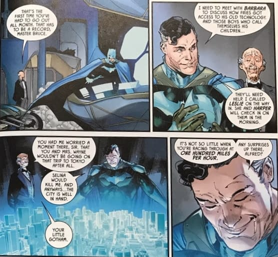 Does Batman Really Debut in His Dream Suit in Batman #96? (Spoilers)