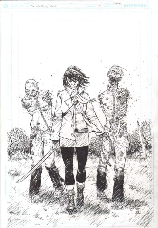 Walking Dead #19 Cover On Sale For $50,000