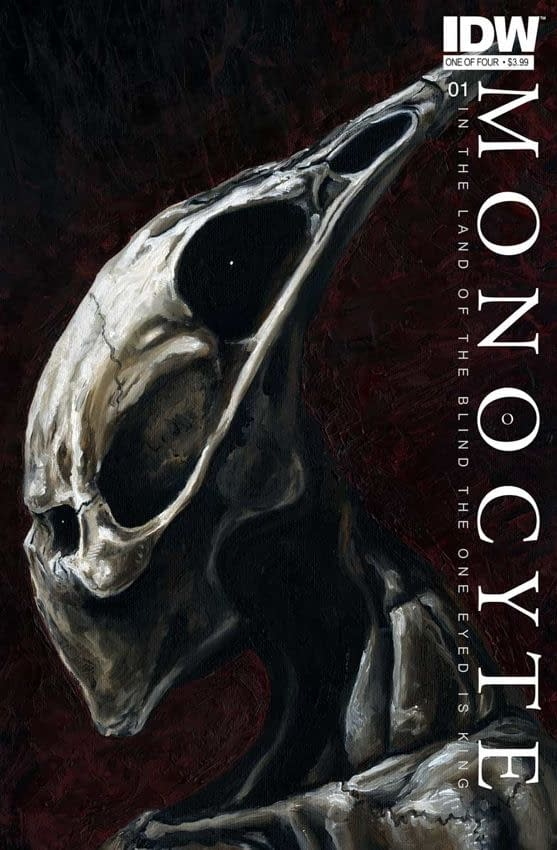 Monocyte #1 By menton3 And Khasra Ganbari For IDW – Videos, Pictures And More