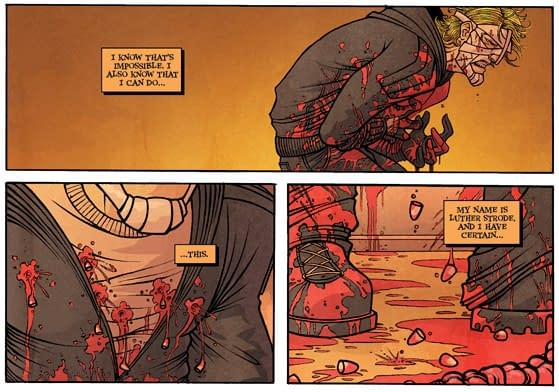 Speculator Watch: The Strange Talent Of Luther Strode #1