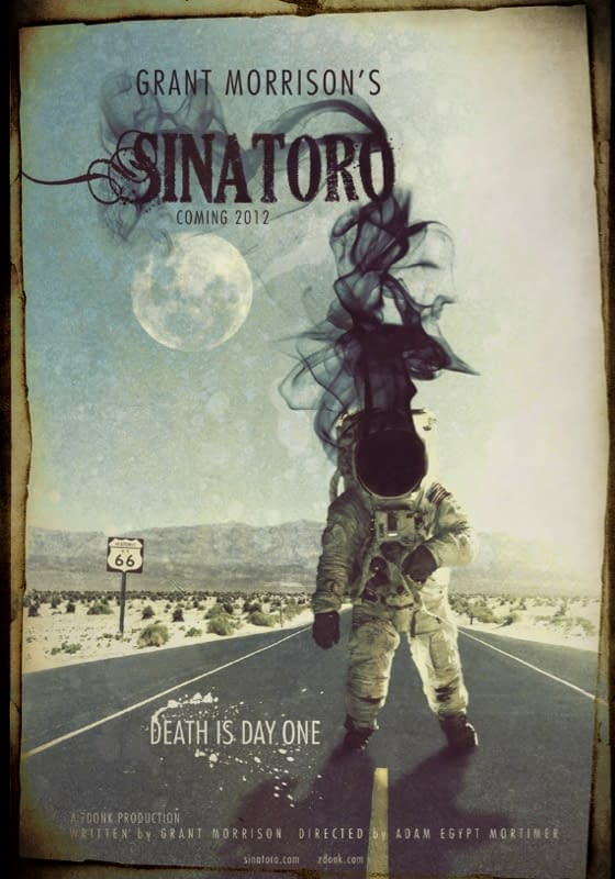 Grant Morrison's New Movie, SINATORO. And You Will Be Invited To Get Involved.