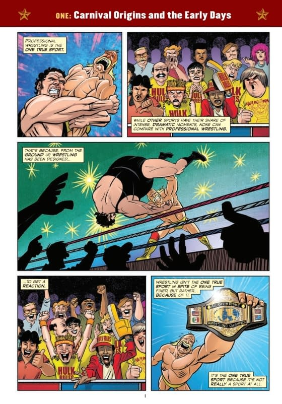 Not a Review of The Comic Book Story of Professional Wrestling