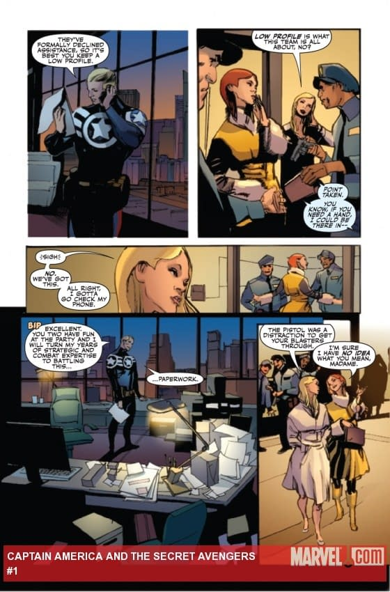 More Fear Itself #1 Preview Pages, Plus Deadpool Team Up, Captain America And The Secret Avengers And A Few Other Random Bits And Pieces