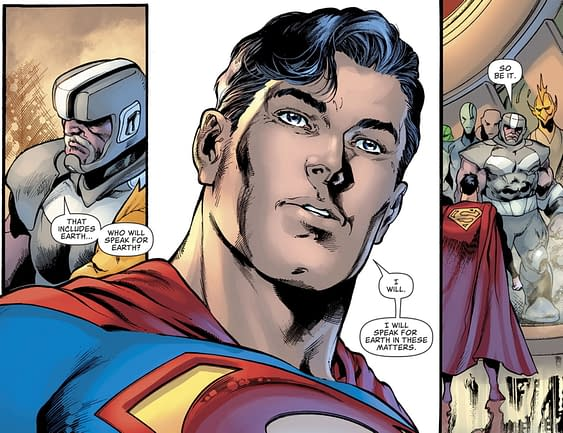 Superman Gets A Promotion in Superman #22 (Spoilers)