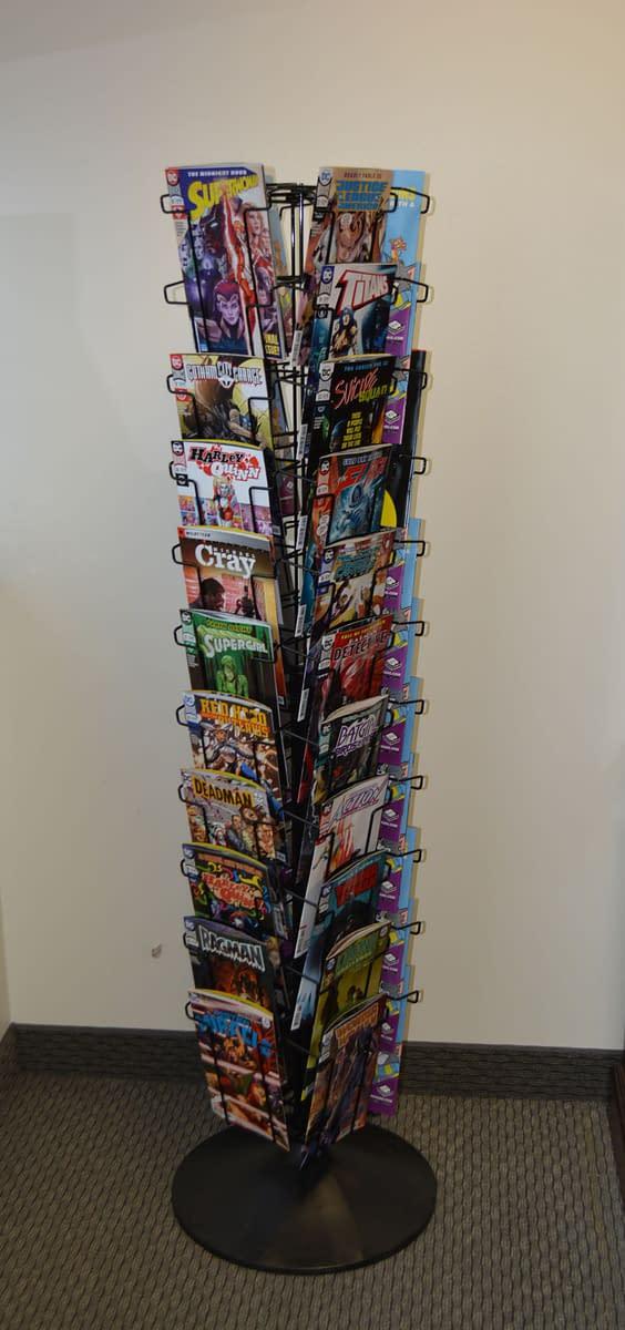 Diamond Brings Spinner Racks Back to Comic Stores
