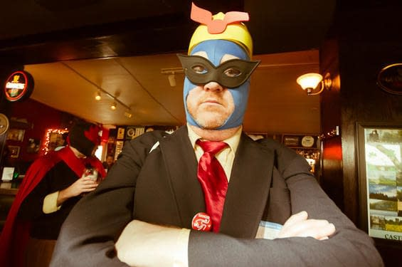 The Seattle Real Life Super Hero Pub Crawl