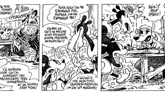 Régis Loisel Bernard Cosey Tébo Lewis Trondheim And Nicolas Keramidas To Create New Mickey Mouse Comics