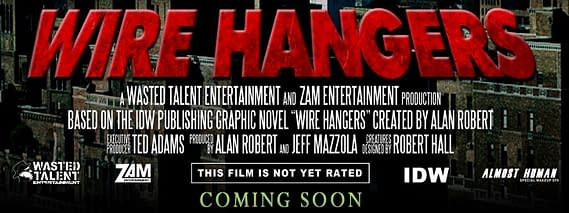 SCOOP: Life Of Agony's Alan Robert To Produce Film Of Own Comic, Wire Hangers