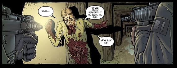 Wednesday Comics Review: Neonomicon 4 and Hellraiser Prelude And 1