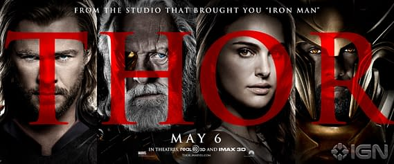 New Thor Movie Posters Get In Your Face