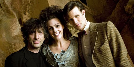 Neil Gaiman Talks Doctor Who. Or Types It. You Know What I Mean