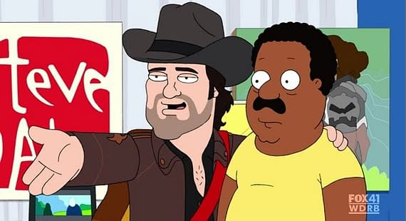 The Cleveland Show Hits San Diego Comic Con. Hard.