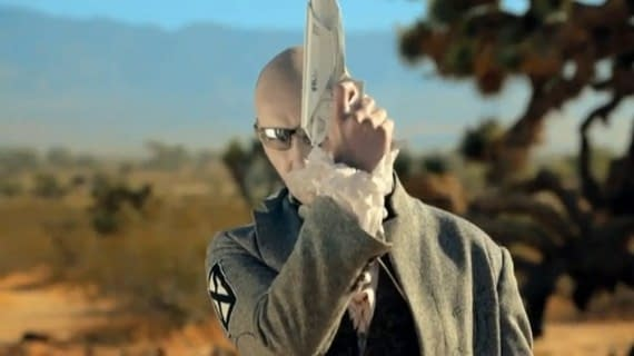 Grant Morrison In New Chemical Romance Video