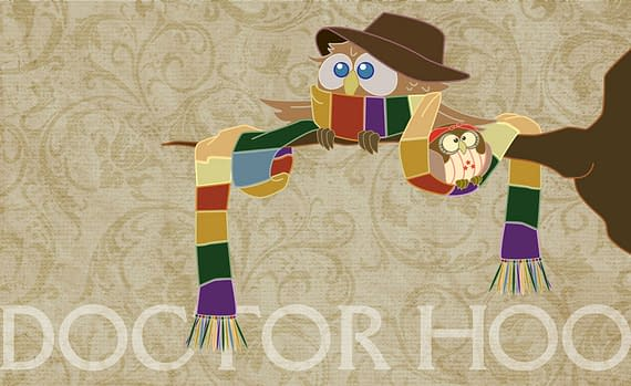 Doctor Hoo – Doctor Who In Owl Form