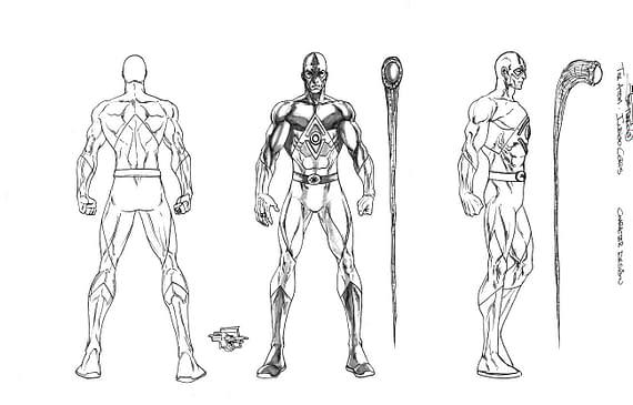 Joe Prado's Blackest Night Character Designs. Around A Hundred Of Them.