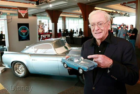 Michael Caine Comes Bumper To Bumper With Cars 2 Identity