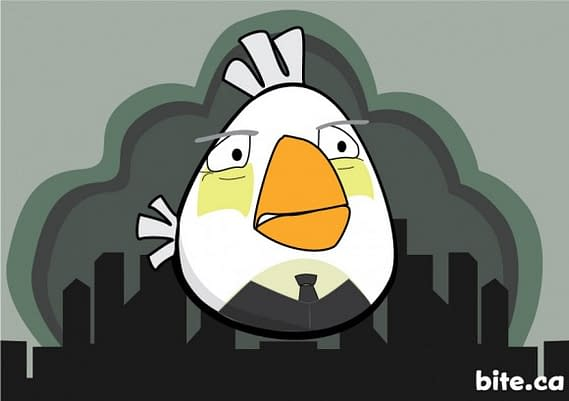 What If The Angry Birds Were Batman Characters? The Angry Batbirds Find Out