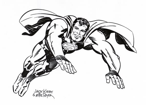 The Jack Kirby And Mike Royer Original Art That Isn't