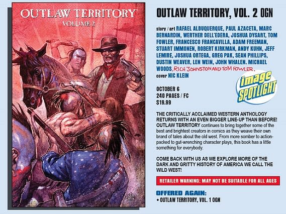A Wilder West – Outlaw Territory Vol 2 From Image