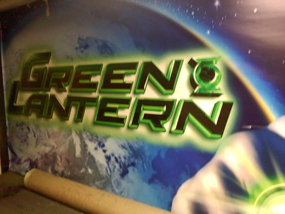 Green Lantern Poster From The Warner Bros Lot