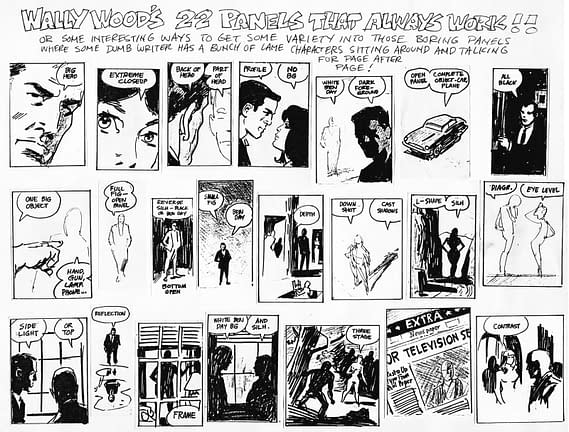 DJ Coffman Covers Arm In Wally Wood's 22 Panels That Always Work