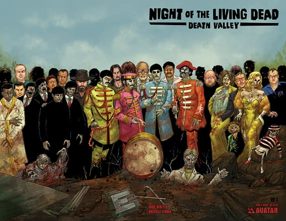 Swipe File: Night Of The Living Dead and Sgt. Pepper's Lonely Hearts Club Band